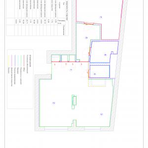 Схема отделки помещений