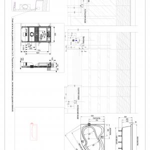 Schematy urządzeń sanitarnych rozwierania.