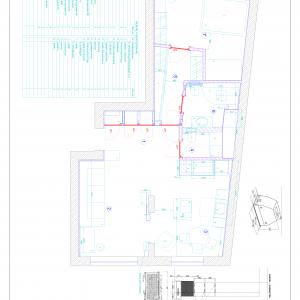 Plan rozmieszczenia mebli i sprzętu